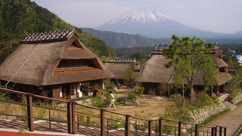 Os melhores locais para ver o monte fuji - sato fuji 13