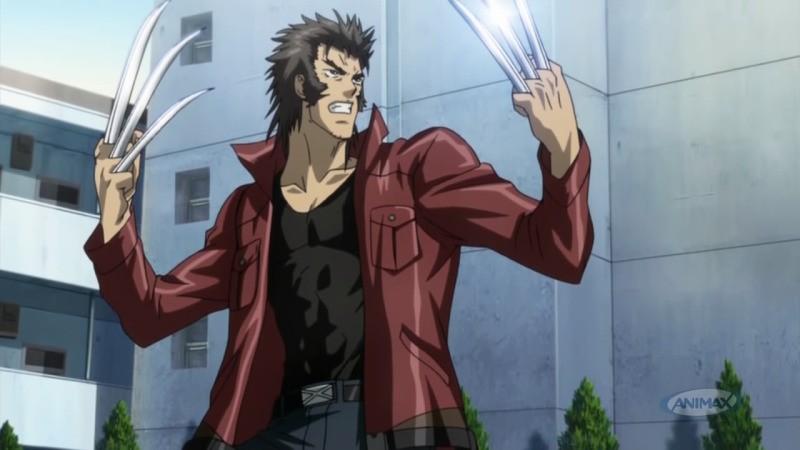 Animes da Marvel e DC - Super Heróis do Ocidente - wolverine anime 5