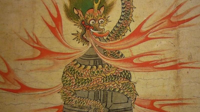 Ryu - 14 serpentes ou dragões japoneses