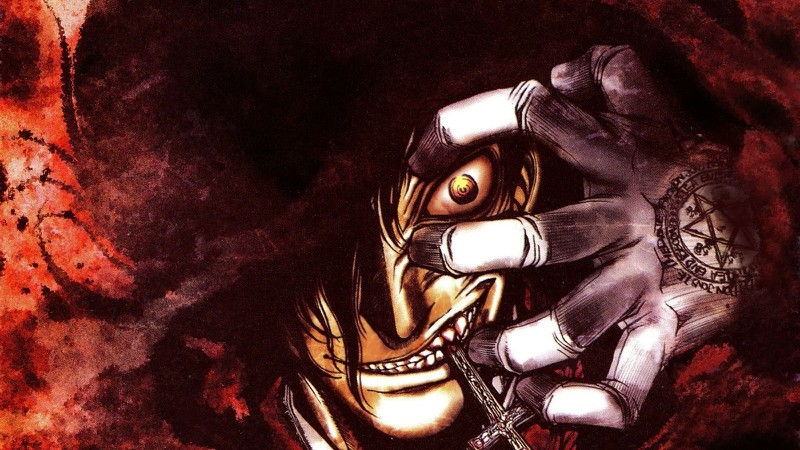 Hellsing - Vampire Hunters and Monsters List of the Best Gore anime - Violent
