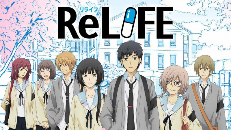 The best school anime + TOP 200 list - relife 5