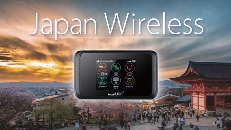 Japan wireless traz para você wi-fi portátil no japão