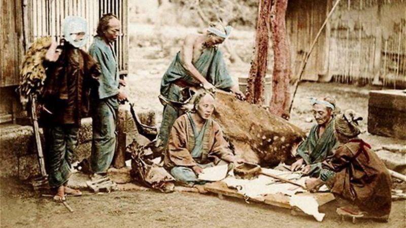 Burakumin - tầng lớp thấp và bẩn thỉu của Nhật Bản