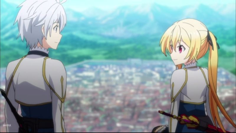 Nhân vật chính tóc trắng trong anime