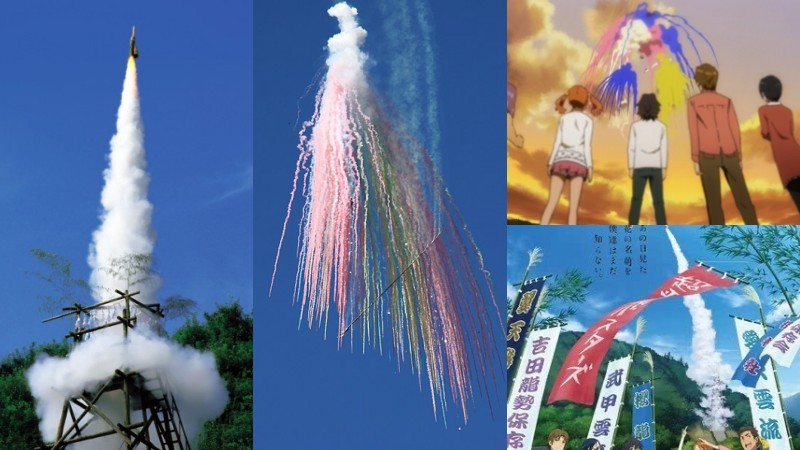 Guía de hanabi taikai - los fuegos artificiales en japón