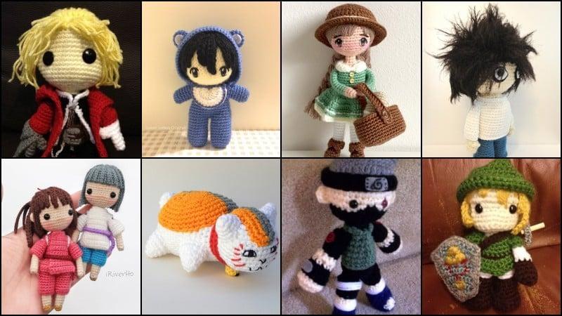 Guía amigurumi - muñecos de crochet japoneses