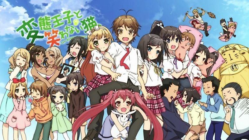 40 anime hài lãng mạn - rom com