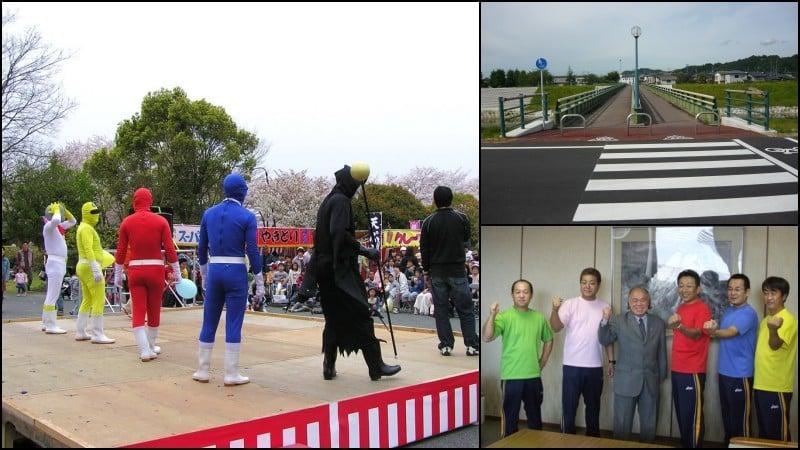 Dia de medição - exame físico e teste da fita métrica no japão