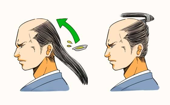 Chonmage: the hair of the samurai - samurai hair