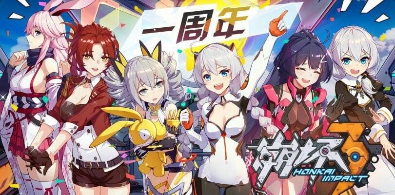 20 melhores jogos de animes para celular - honkai impact 3rd