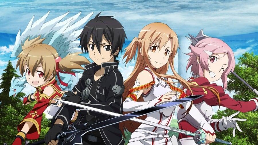 20 melhores jogos de animes para celular - sword art online