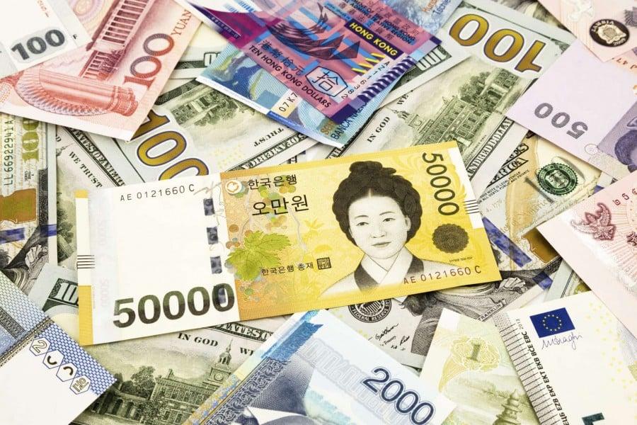 Won - a moeda da coreia do sul - won mulher