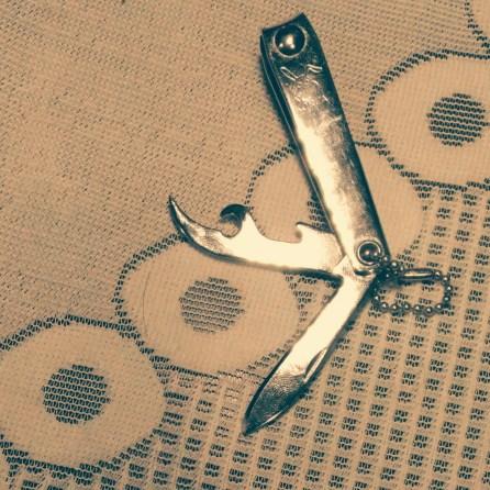 Notch on penknife