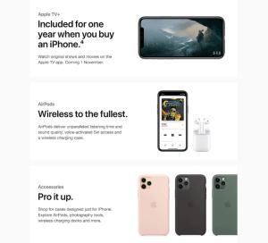 iPhone 11 Max Pro ads
