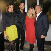 Brooke Burke-Charvet, David Charvet, Tracy Mork, and Michael Greenberg