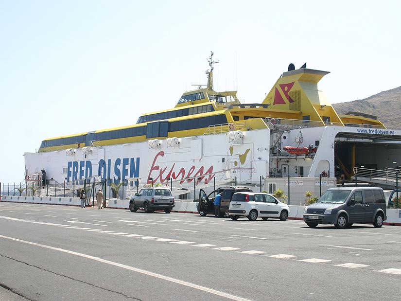 Fred. Olsen Express Ferry, San Sebastien