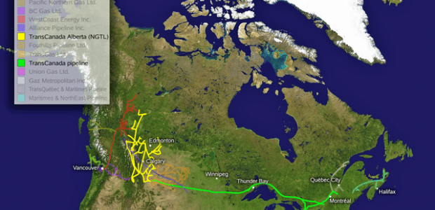 TransCanada and East Energy Pipeline project