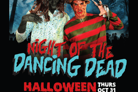 HSF is hosting a Halloween Party. Be careful what you wear.