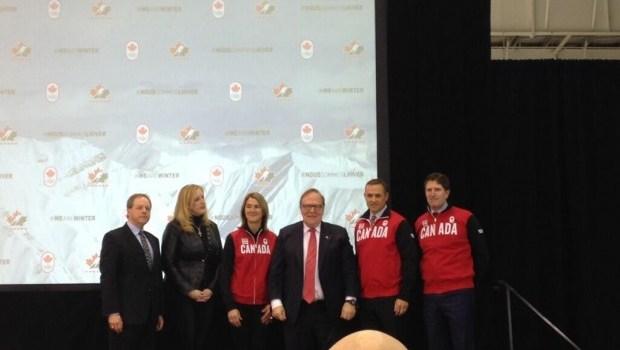 Canada's Olympic men's hockey team set for Sochi
