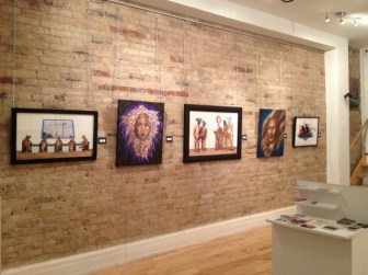 Anamorph exhibition at the Project Gallery. Photo by Alison Greco
