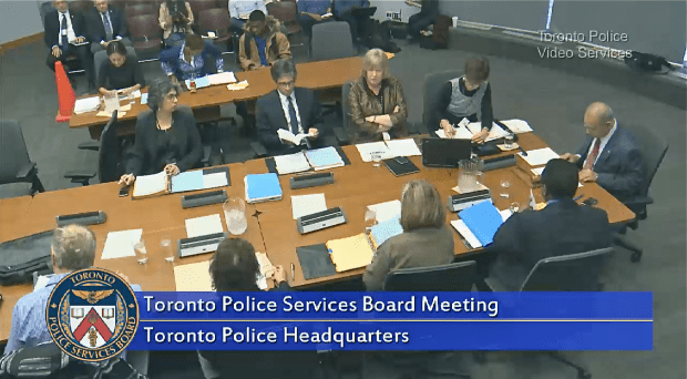 Mukherjee re-elected as Toronto Police Board chair