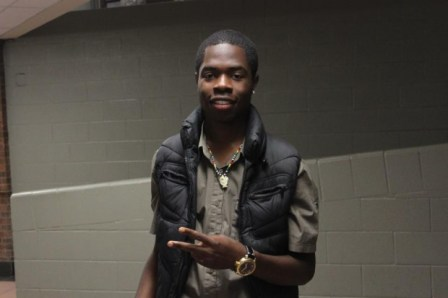 Junior Lavagasse Youth leader, hip hop artist and facilitator of the Casandra London Network
