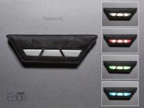 Vega Edge trapezoid model with various colours (photo courtesy of Vega)