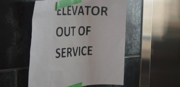 L-Building elevators down for six hours