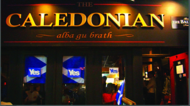 Toronto Scots gather to watch referendum result
