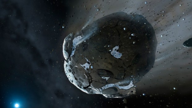 NASA says asteroid will travel past earth