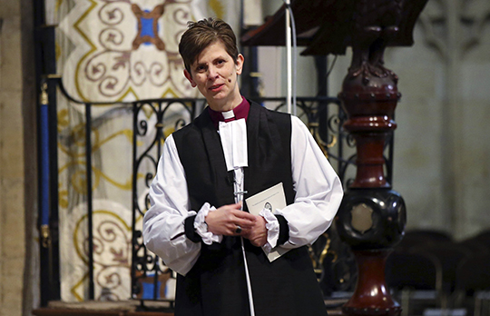 Lane becomes England's first female bishop