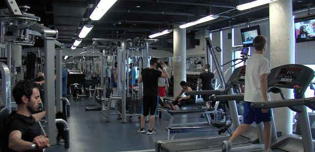 Students get fit after New Year