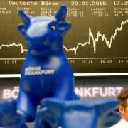 European Central Bank employs quantitative easing to combat deflation