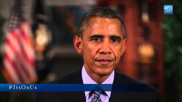 President Obama urges stars to end domestic violence