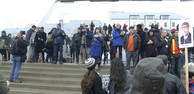 Toronto protests anti-terrorism bill