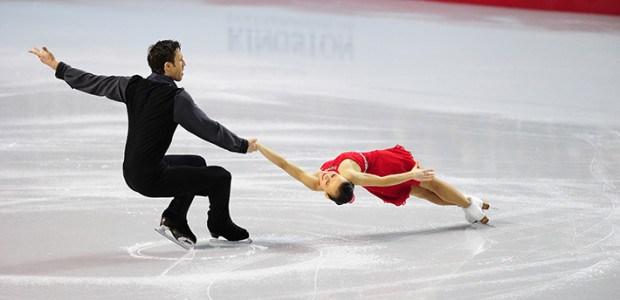 "New Canadian pair is ""feeling good"" despite rocky start"