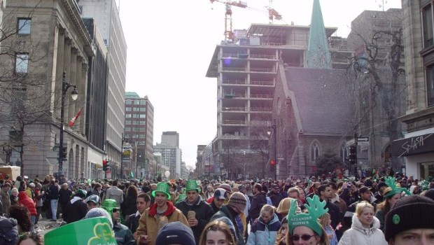 Saint Patrick's Day and the student
