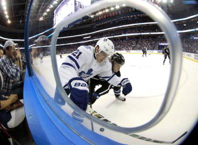 Leafs fall to Bolts
