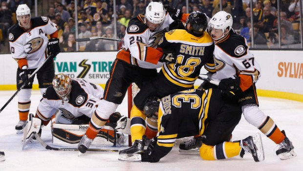 Boston Bruins fight for final playoff spot