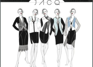 Fashion design sketches.