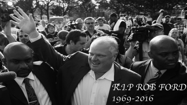 Rob Ford dead at 46