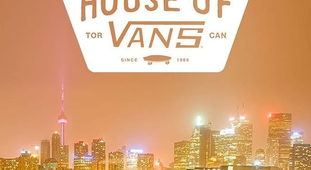 Vans 50 year anniversary flips Toronto 'Off the Wall'