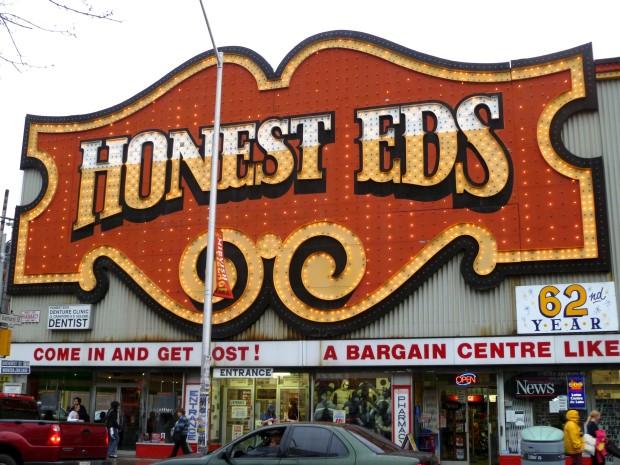 TTC commemorates Honest Ed's with station installation