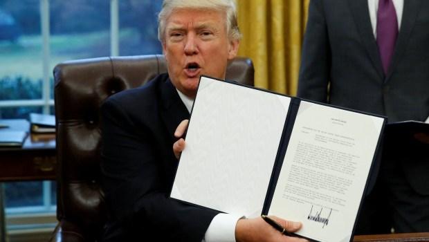 President Trump's first week in office