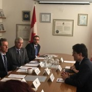 Trudeau visits the GTA to talk trade