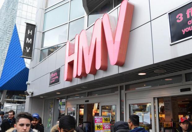 HMV stores close as music streaming sites grow