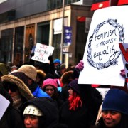 The 100th International Women's Day sends a flood of people marching through Toronto
