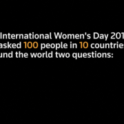 The biggest challenge facing women? Work, say men and women globally