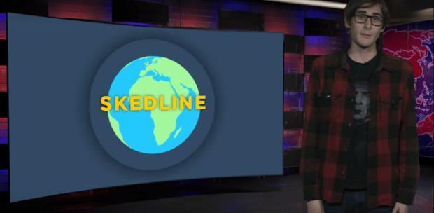 Skedline newscast for Monday, Nov. 12
