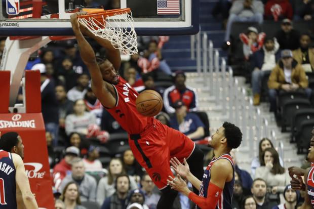 Raptors score winning free throw in 140-138 win over Wizards
